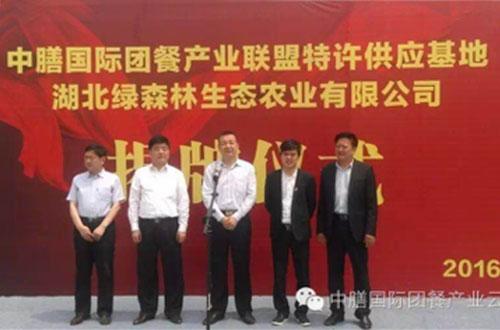 中膳供应链基地农业基地管理湖北省