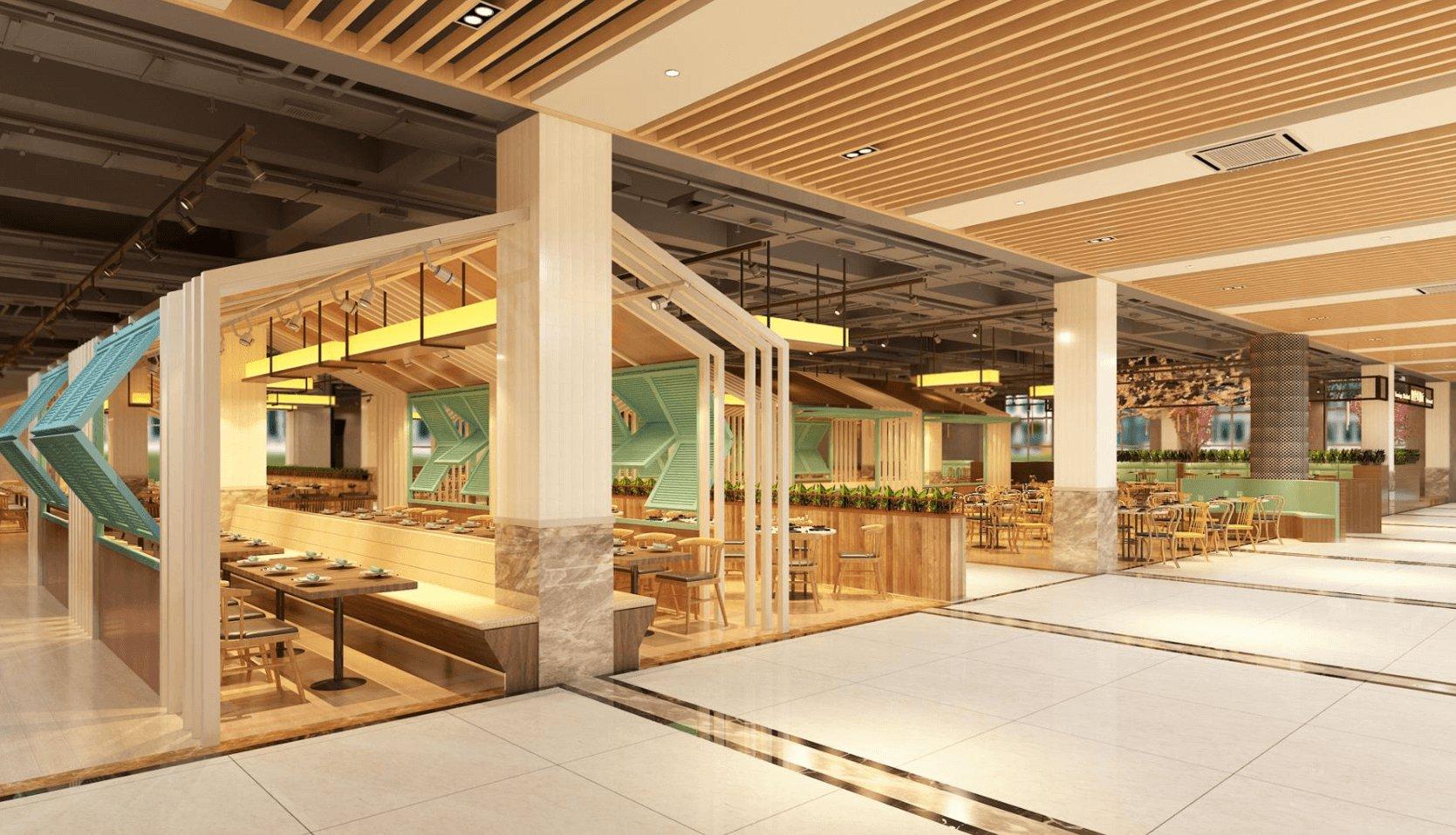 餐厅式饭堂-中膳集团