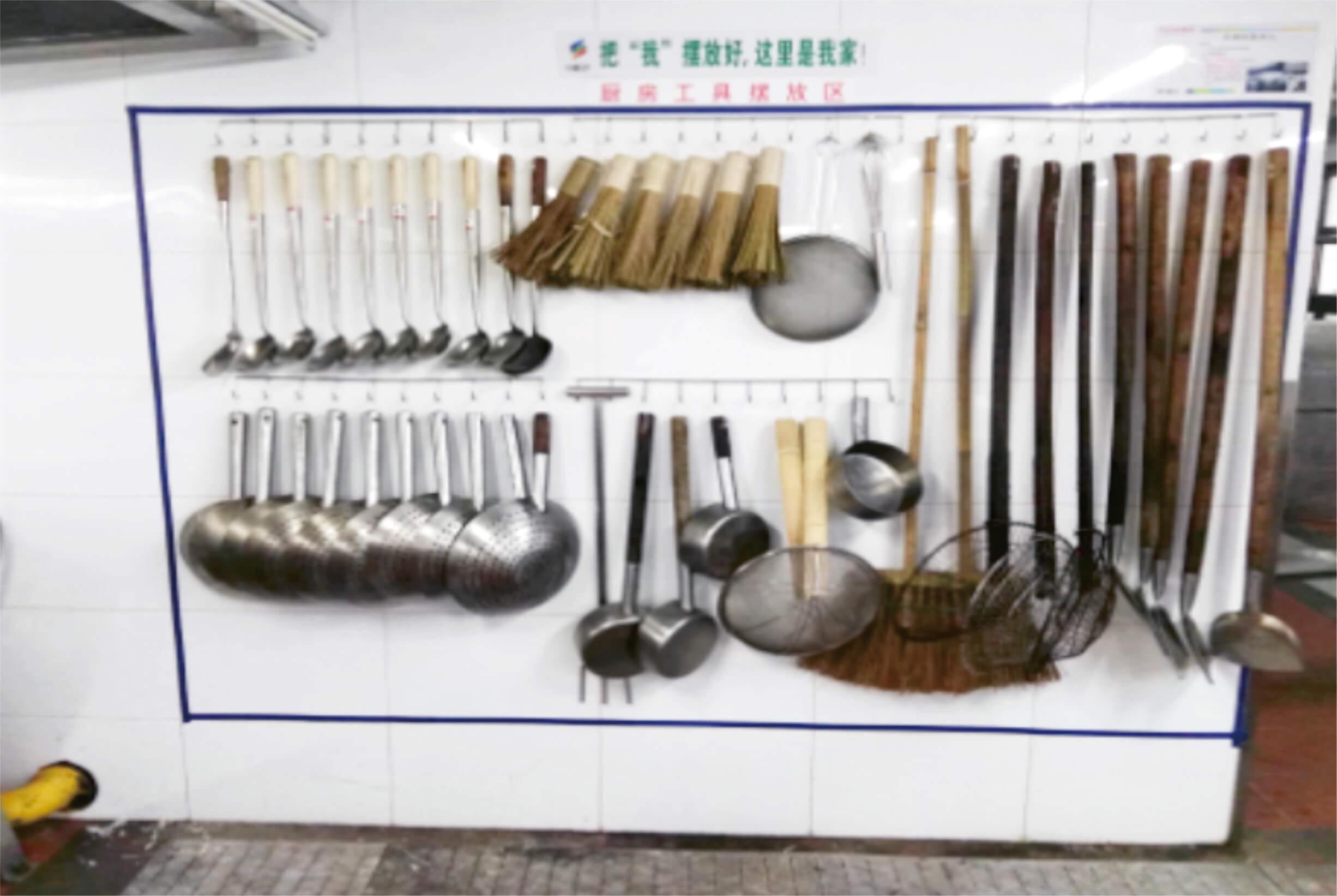 中膳集团-食堂后厨餐具