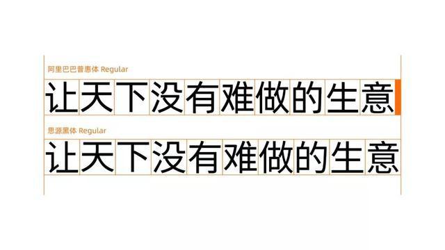 阿里推出免费商用字体,解千万企业字体之困