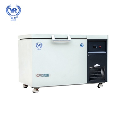 医然105L卧式超低温冷柜 零下60/86/105/135度超低温冰箱