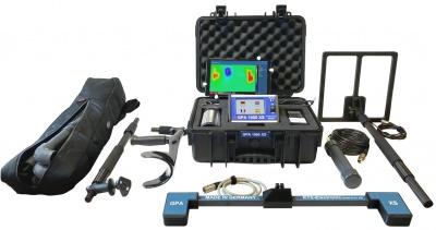 德国KTS 地面扫描仪GPA1000XS 可视地下成像仪+脉冲金属探测器