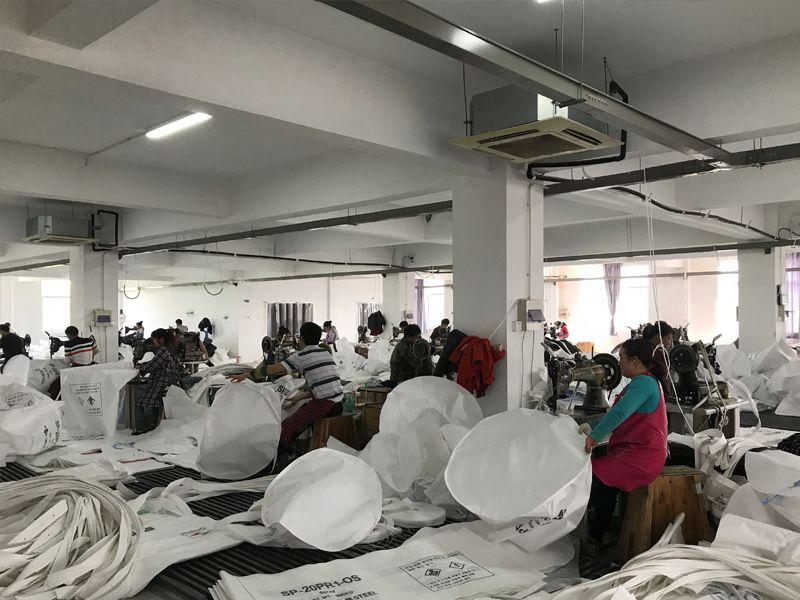 吨袋缝制车间