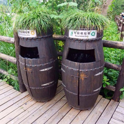创意垃圾桶