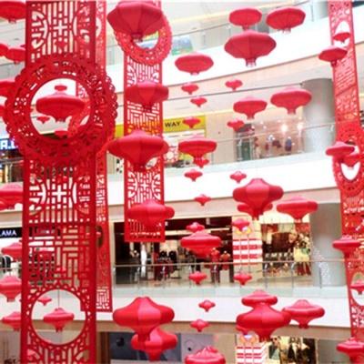 春节中庭吊饰