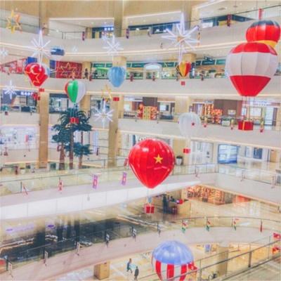 国庆节中庭吊饰