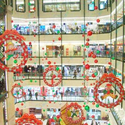 圣诞节中庭吊饰