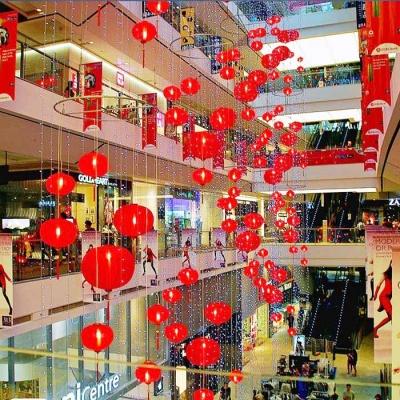 中秋节中庭吊饰