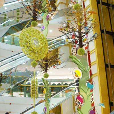 春季中庭吊饰