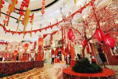春节商场装饰