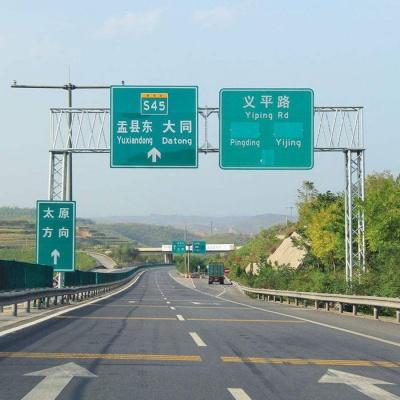 高速交通指示牌