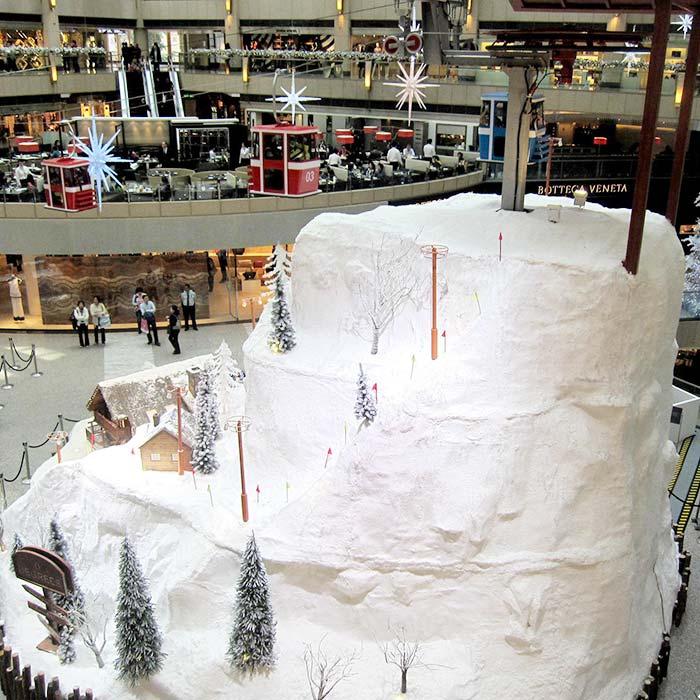 商业冬季装饰