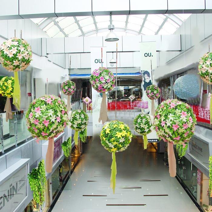 商场春季吊饰