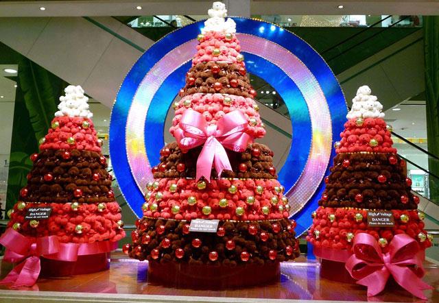 圣诞节主题美陈