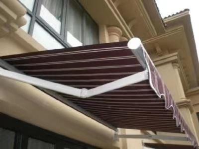 遮阳棚阳台户外帐篷曲臂式伸缩雨棚蓬加厚铝合金停车棚折叠雨搭篷