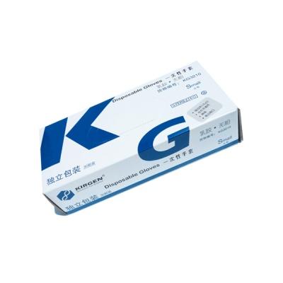 KG3210|kirgen,无粉乳胶手套,独立包装,灭菌,小号