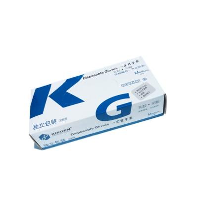 KG3220|kirgen,无粉乳胶手套,独立包装,灭菌,中号