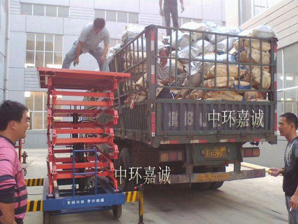 唐山黄各庄污水处理厂4816套曝气器发货现场