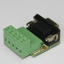 DB9转OPEN5标准CAN总线连接器