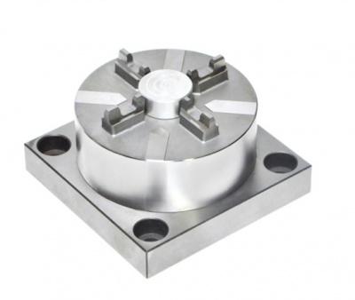 JS-2001-CNC 气动快速基准夹头(带连接底板)