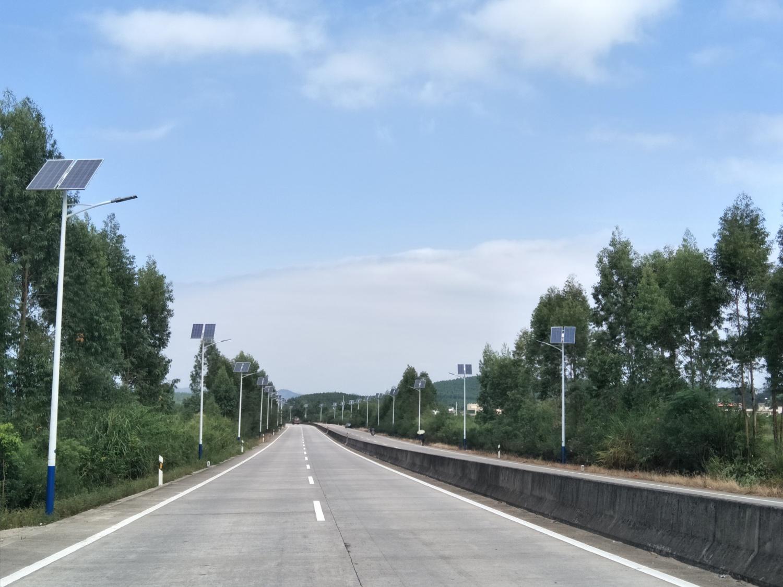广东韶关太阳能路灯项目