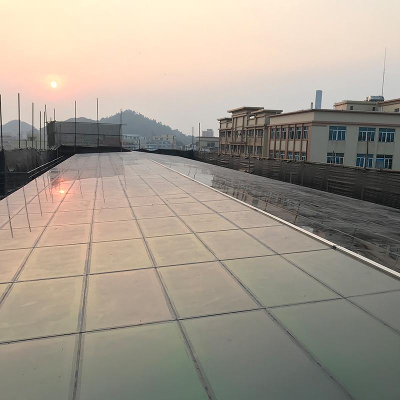 中山大涌发电玻璃居民光伏发电站