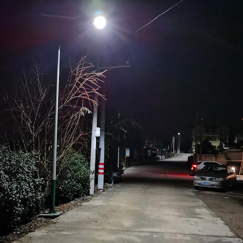 浙江衢州太阳能路灯项目