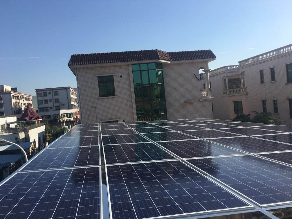 中山南朗居民光伏发电项目