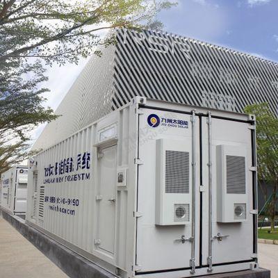 2MWh1MWh 40尺集装箱储能系统 移动储能电站 工业储能微电网