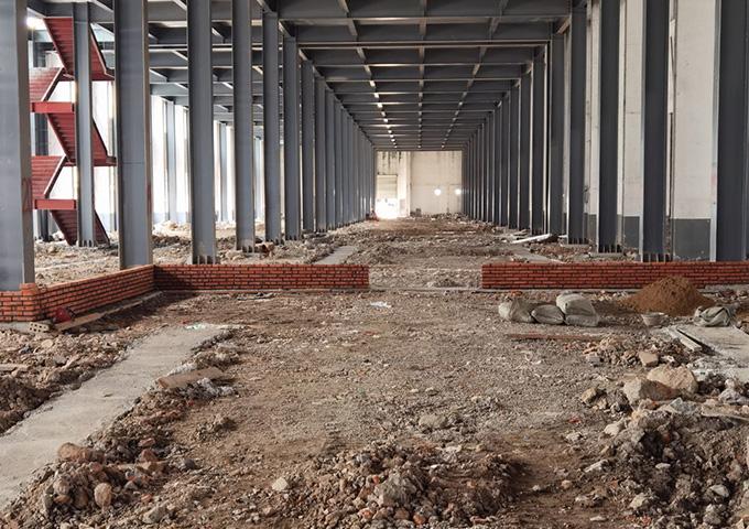 华盛兴邦设计大型食品厂项目装修开始动工