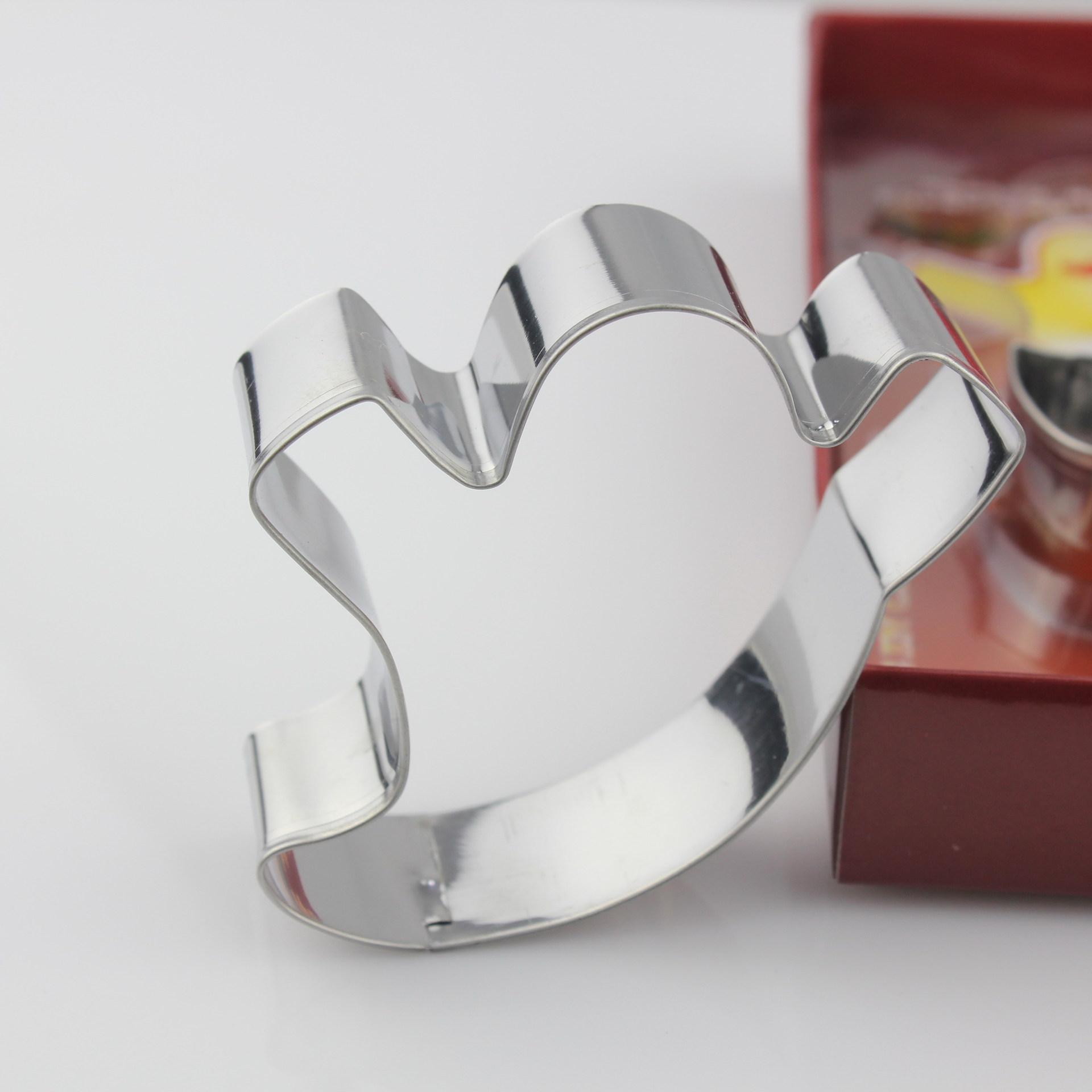不锈钢万圣节饼干模具幽灵黑猫蛋糕模具曲奇饼DIY烘焙工具套装