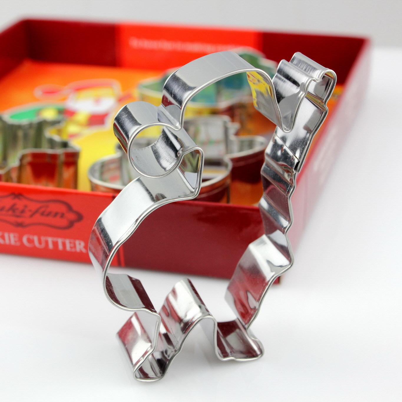 圣诞节不锈钢饼干模曲奇饼模DIY烘焙工具蛋糕模