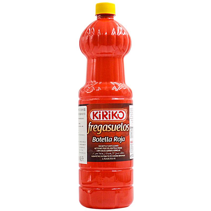 KIRIKO西班牙进口瓷砖清洁剂深层去污厨房地板砖1500ML柠檬味