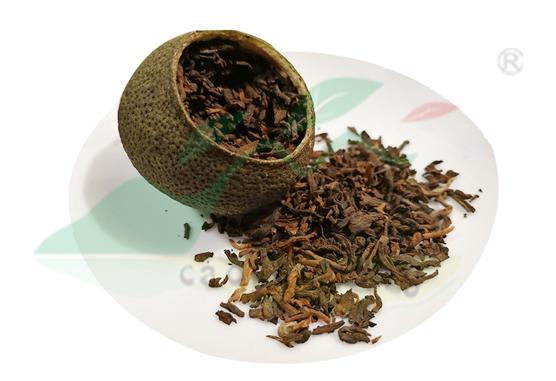 小青柑与陈皮普洱代用茶的区别