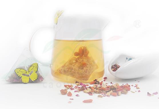 常喝红枣桂圆枸杞三角茶包***茶,面若桃花,做真正的粉红佳人