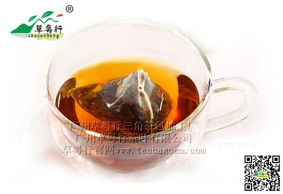 晚上喝什么茶好?草粤行专家建议喝红茶三角茶包袋泡茶