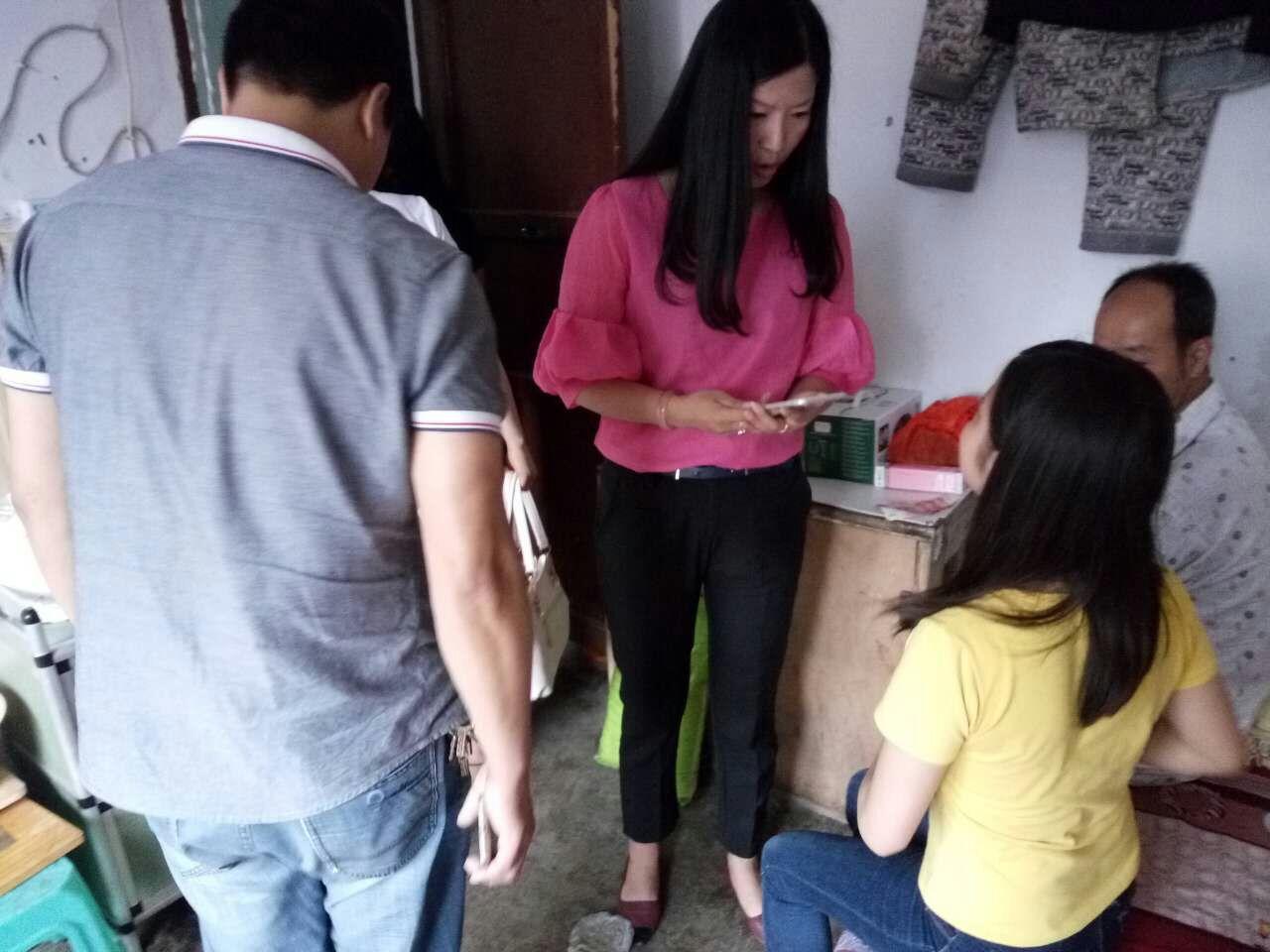 助学——帮助刘文丽公益活动
