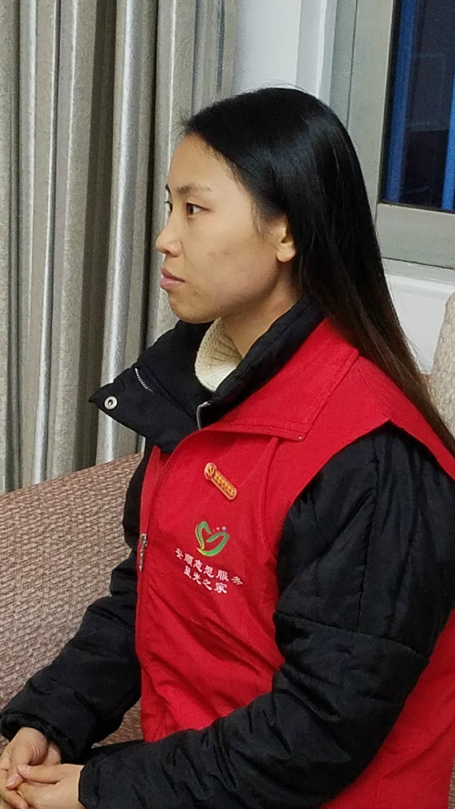 为特殊群体提供心理干预活动(陈发琳 市爱心义工社)