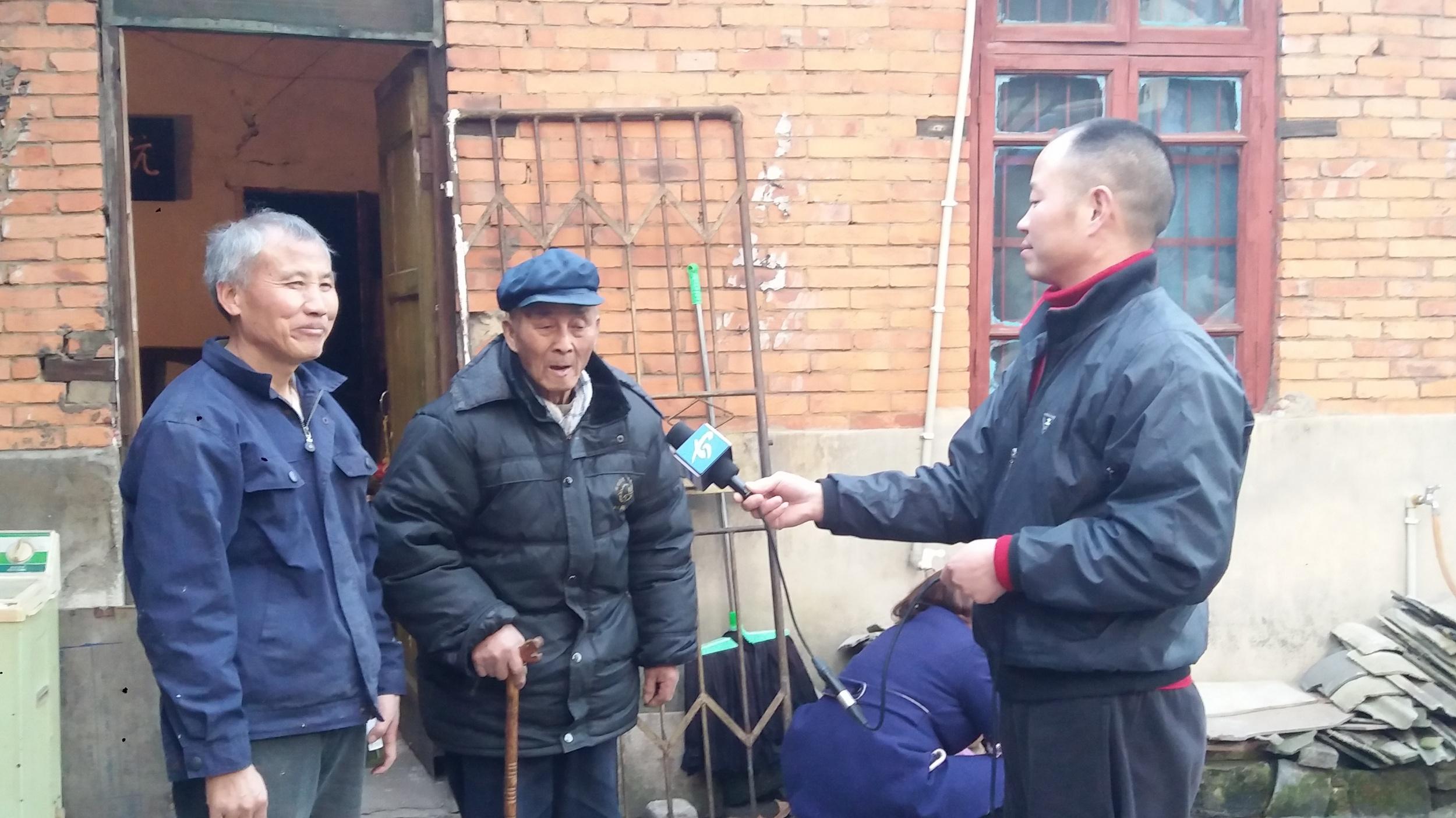 十二月:看望王克定(陈发琳 市爱心义工社)