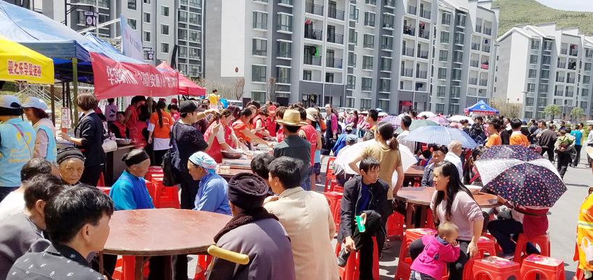 五月:彩虹社区我们都是一家人志愿活动(陈发琳 市爱心义工社)