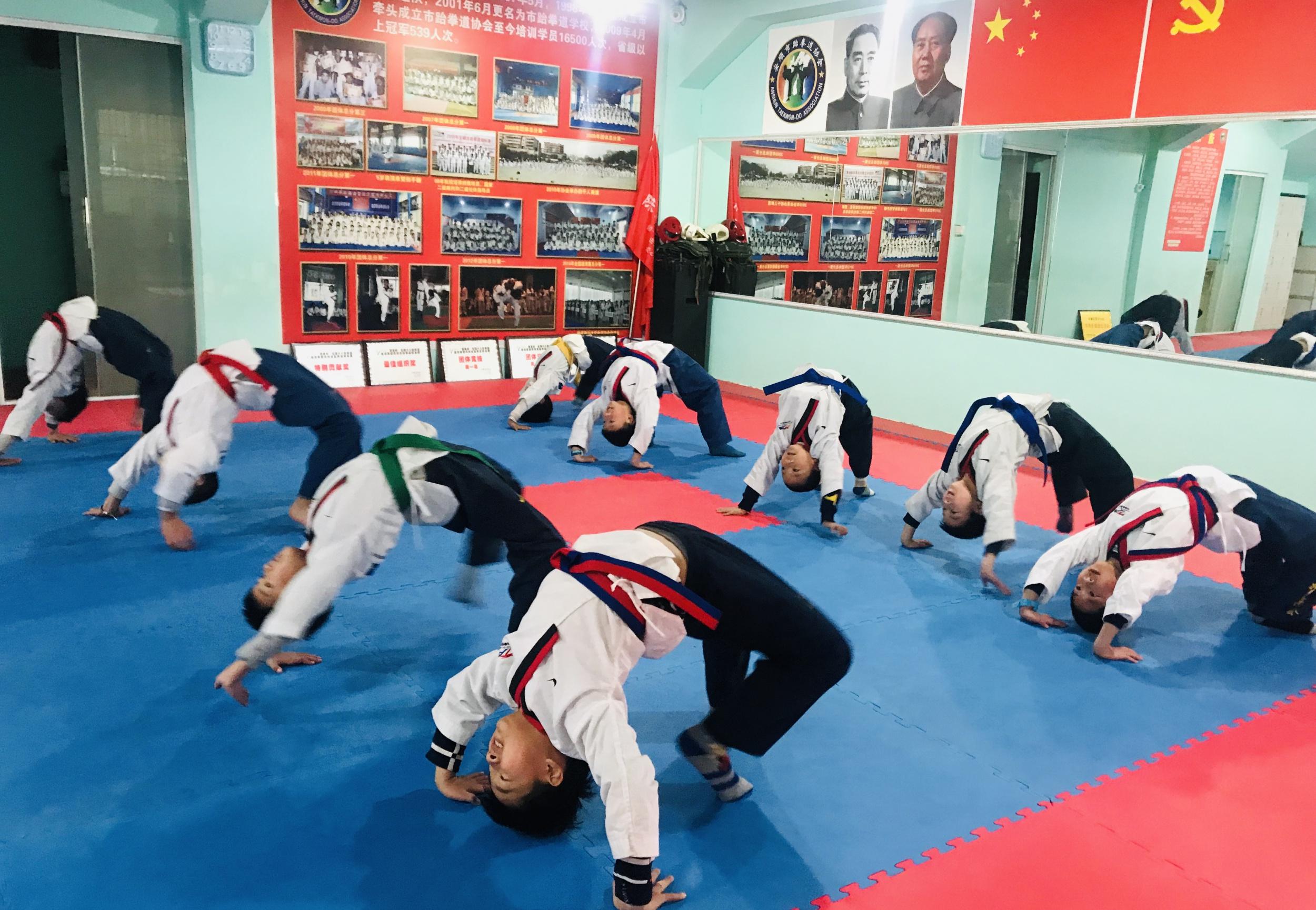 2020年义门功夫教育(安顺跆拳道学校)授课时间表