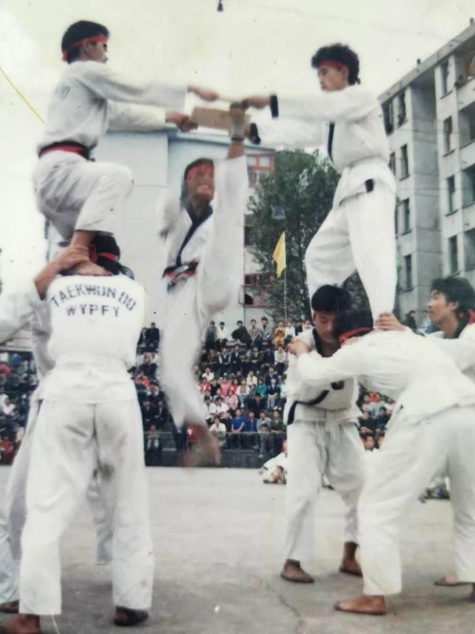 贵州首批跆拳道大师们