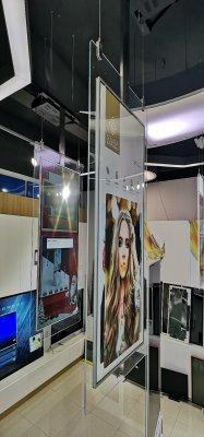 65寸超薄双面OLED广告机  VLT650OLED-DUAL