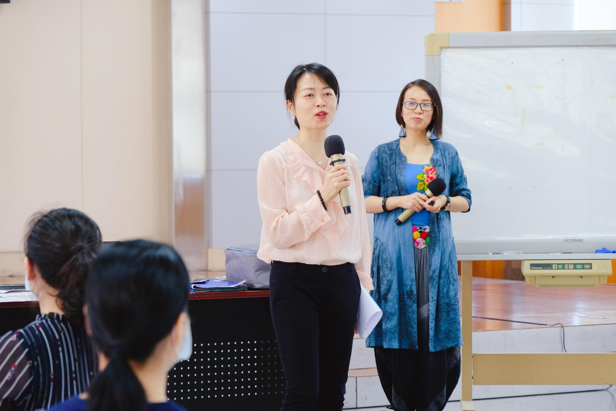 广州市粤信人力举办的以《服装色彩搭配》为主题的课程回顾