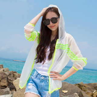 夏季新款短款百搭防晒衣女学生服韩版薄款开衫户外运动宽松防晒衫仙女外套