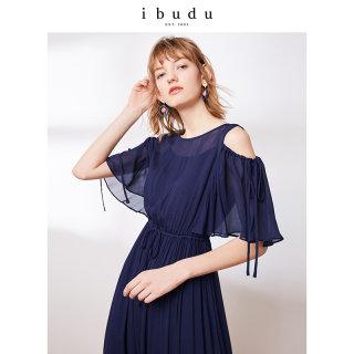 2019夏季新款很仙的冰丝连衣裙夏款网纱两件套女收腰裙子