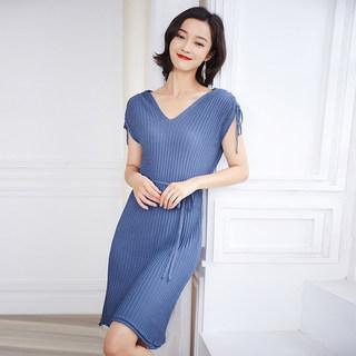 冰丝吊带连衣裙女夏学生韩版宽松新款2019夏季无袖打底背心裙