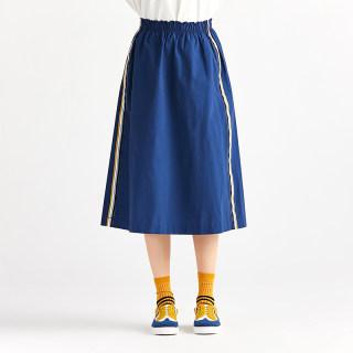 秋季新品 平纹尼龙运动半裙