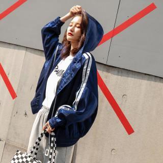 外套女2019新款春季韩版港味时尚学生短款宽松运动风棒球服