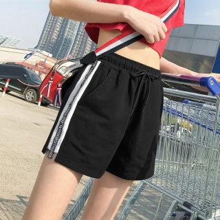 【全棉薄款 吸汗透气】夏季运动短裤女外穿跑步健身短裤